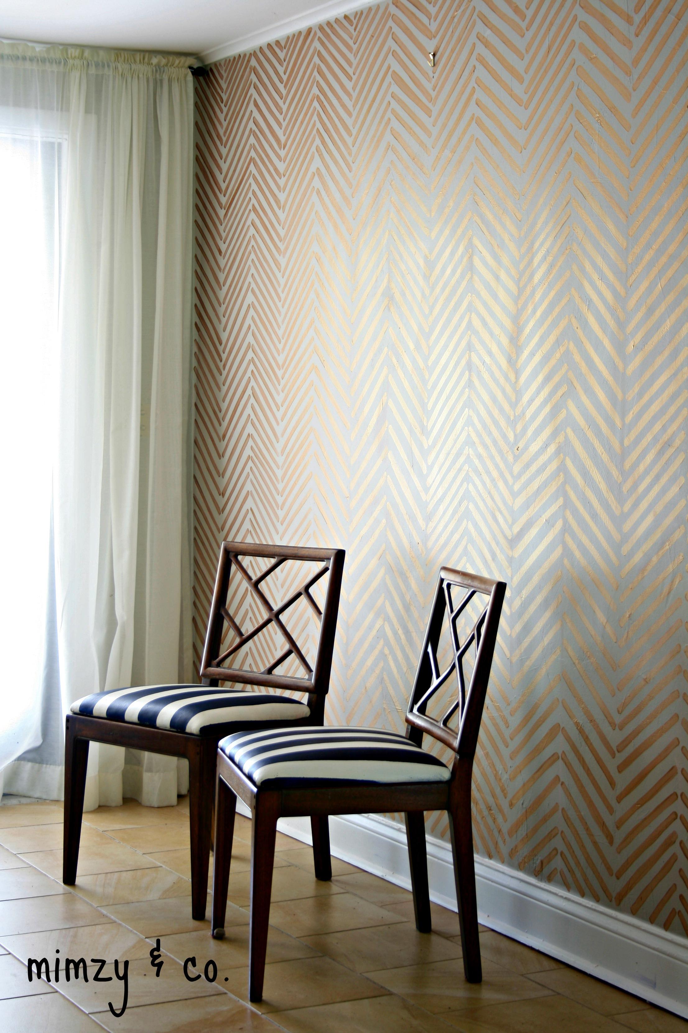 Faux wallpaper   mimzy & company