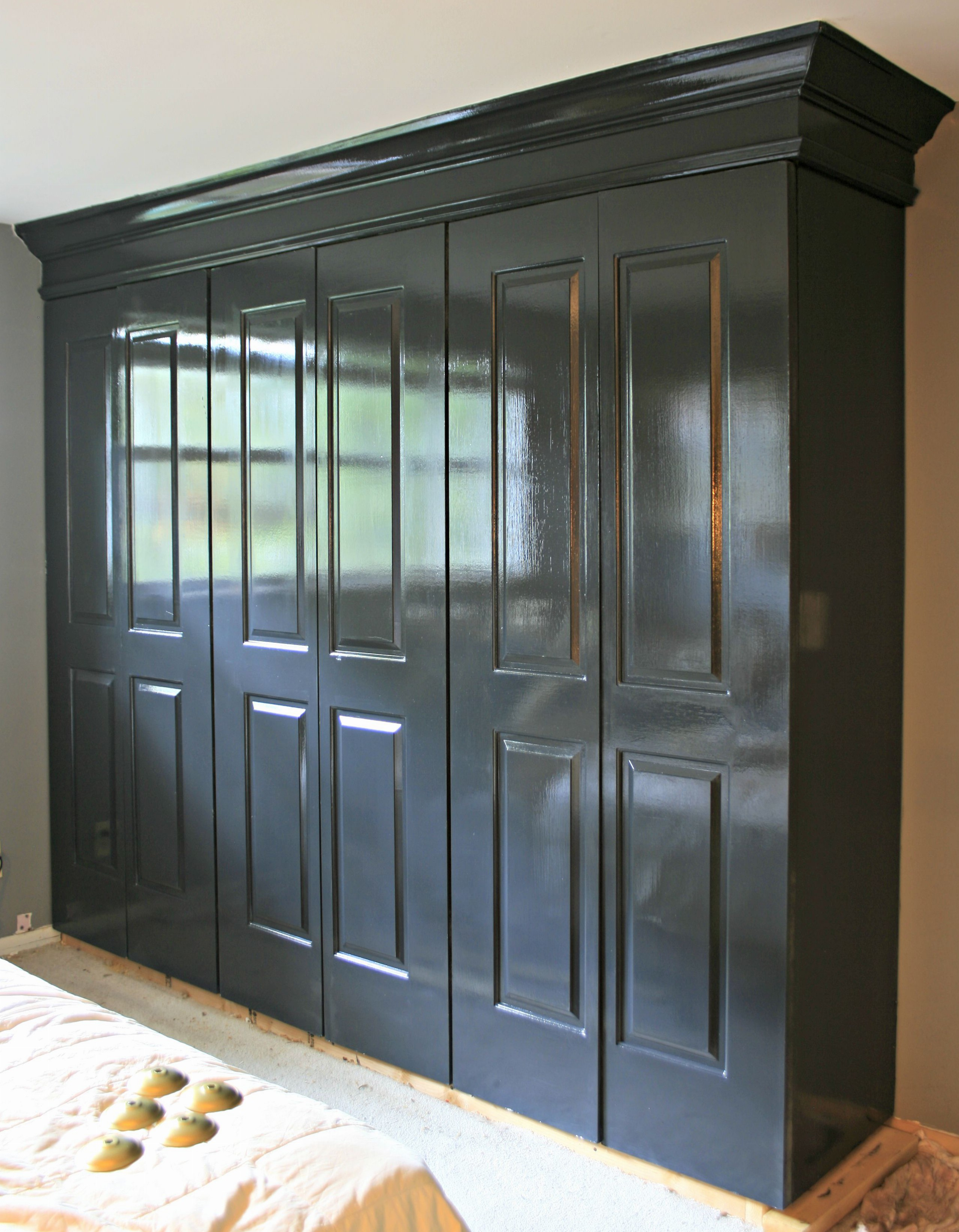 ... Closet Cabinet In High Gloss Oil Paint