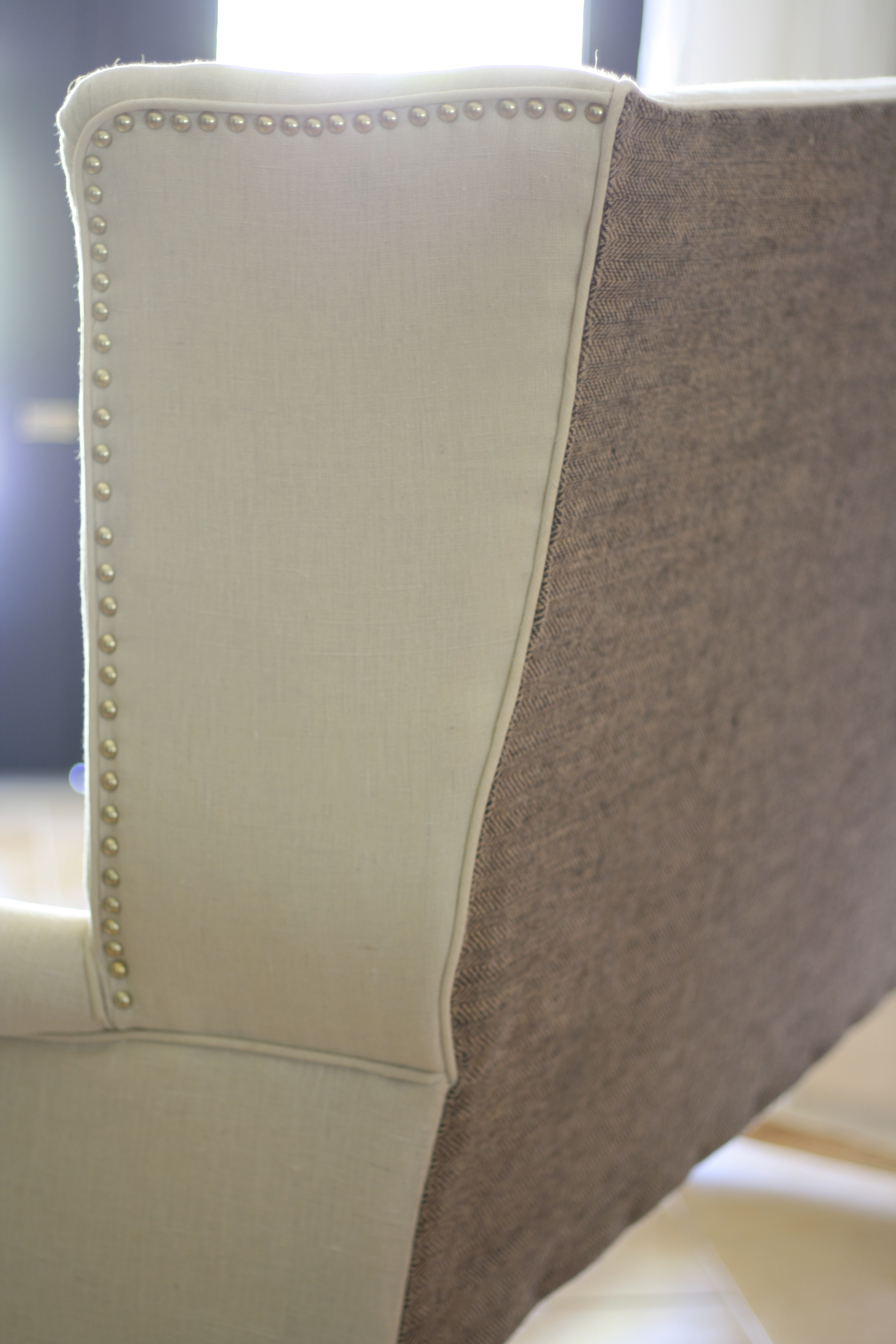 alo wings nailhead trim headboard with upholstery upholstered tufted youtube diy