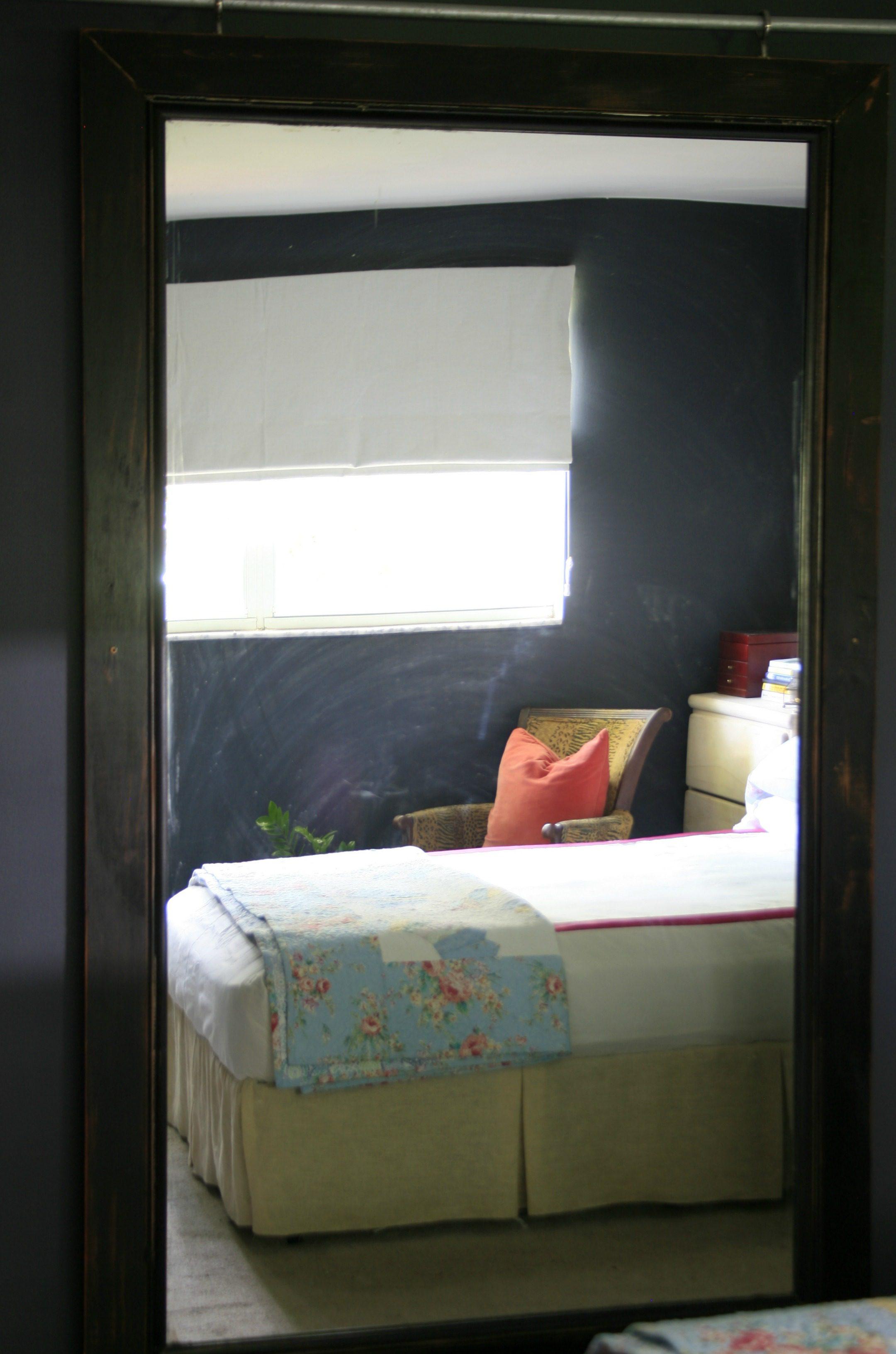 master bedroom reflection